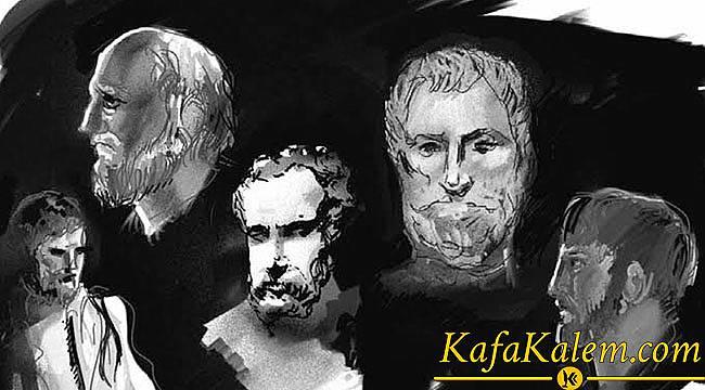 Dünyanın İlk Filozofları Anadolu'da Yaşamış İyonlar; Thales, Anaksimandros, Pythagoras, Ksenophanes