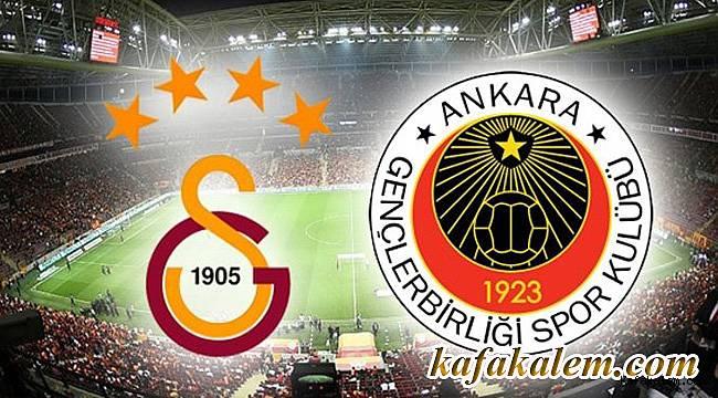 Gençlerbirliği taraftarları Galatasaray maçı öncesi emniyete çağrıda bulundu