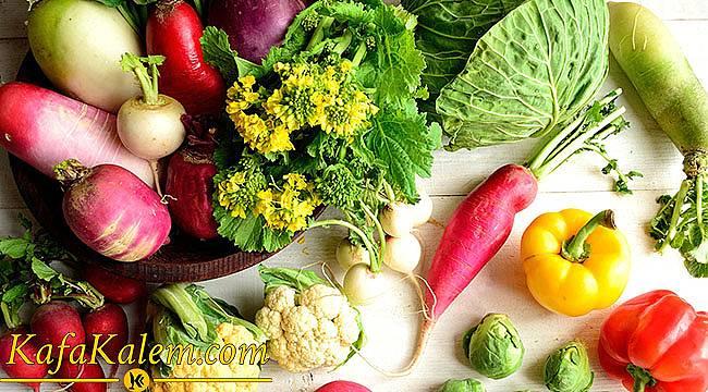 Kış Sebzelerinin Faydaları Neler? Hangi Sebze Hangi Hastalıktan Koruyor?