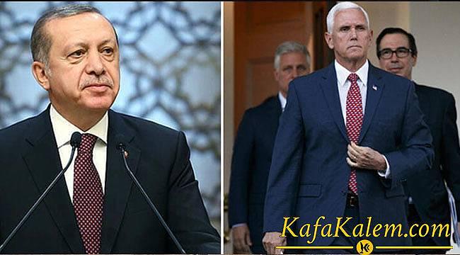 Türkiye İle ABD Suriye Konusunda Ateşkes Anlaşmasına Vardı YPG Çekilecek