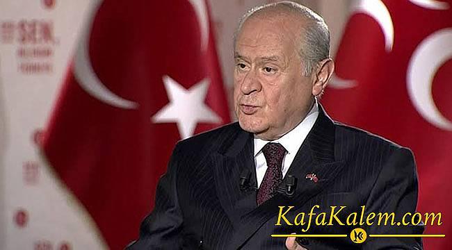 """MHP Genel Başkanı Bahçeli:""""Erken Seçim İstemiyoruz!"""""""