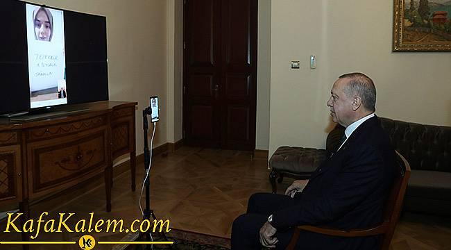Kim Milyoner Olmak İster Yarışmacısı Konuşma Engelli Ümmü Gülsüm Cumhurbaşkanı ile Görüştü