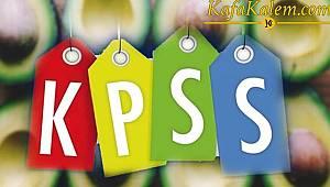 KPSS Genel Kültür-Yetenek bölümünden çıkabilecek sorular