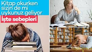 Kitap okurken uykumuz neden gelir? Tavsiyeler; Uyumamak aslında o kadar zor değil