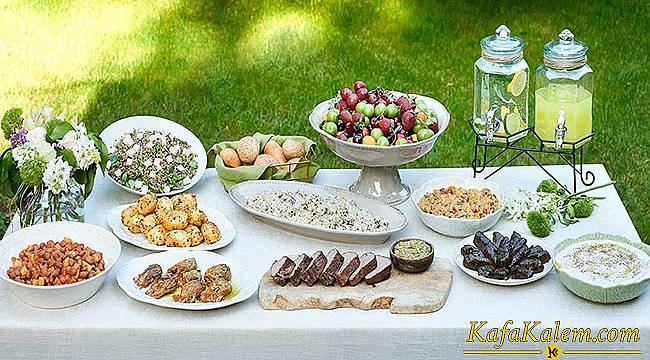 Ramazanın son günlerinde ferahlatan iftar menüsü tavsiyesi