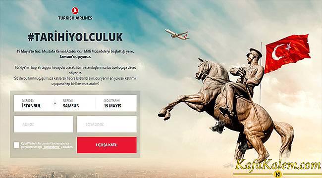 THY Hatıra Bileti linki; 19 Mayıs'a özel uçuş hakkında tüm merak edilenler ve yapılması gerekenler