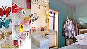Evde yapılabilecek ilginç dekorasyon fikirleri ve dizayn önerileri