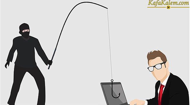En eski dolandırma tekniği oltalama tekniğine dikkat; Phishing saldırısı nedir? Nasıl korunulur?