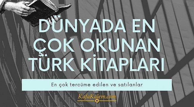 Türk edebiyatının dünyaca bilinen kitapları; En çok okunan ve tercüme edilen 5 roman