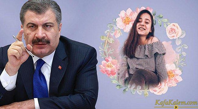 Aşure istedi diye tecavüz imasına maruz kalan Büşra Hemşireye Bakan Koca'dan telefon