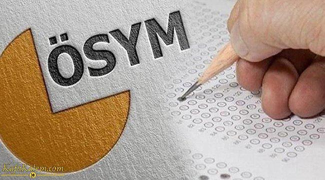 ÖSYM 2021 sınav takvimi açıklandı; İşte 2021 YKS, ALES, YDS ve KPSS tarihleri