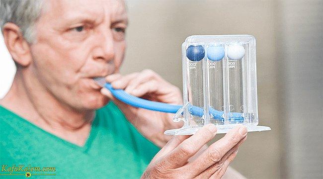 Triflo cihazı nedir, nasıl kullanılır? COVID- 19 geçiren hastalara faydası nedir?