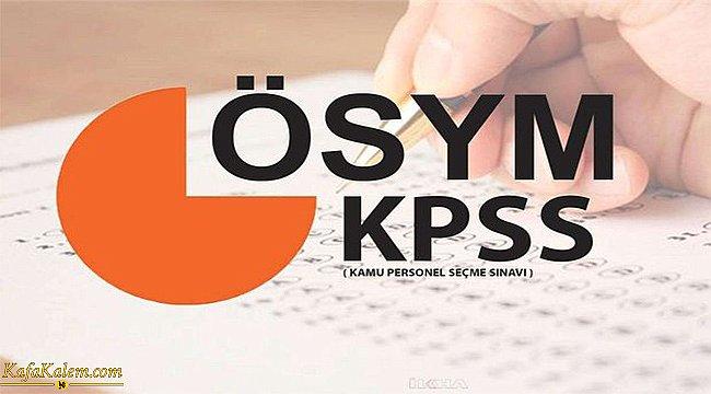 KPSS'de kaç soru sorulacak? Sorular için adaylara kaç dakika verilecek?