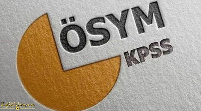 2021 KPSS başvuruları ne zaman bitiyor? İşte başvuruların bitiş tarihi ve geç başvuru tarihleri